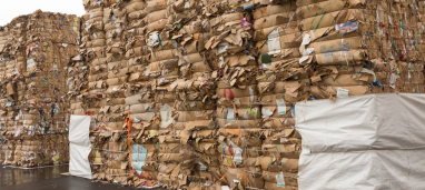 Paper Mountain buys and sells waste cardboard in Hampshire