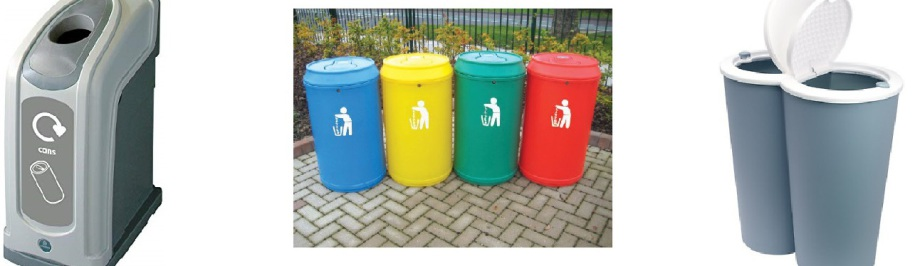 Paper Mountain provides bins and collections for the recycling of aluminium cans and plastic PET bottles.