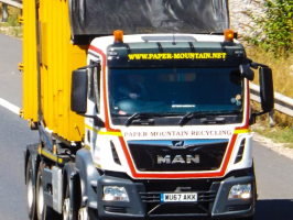 Paper Mountain in Hampshire provides a commercial recycling service, the best on the South coast.