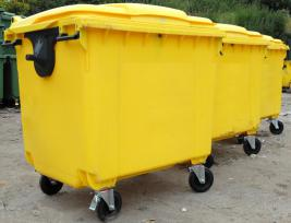 Paper Mountain can supply 1100Ltr Bins